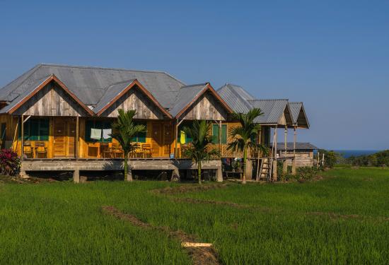 Wae Rebo Village: Waerebo Lodge In Dintor Village Is Very Spartan