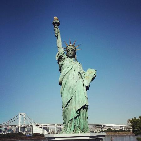 Mini Statue of Liberty - Picture of Odaiba, Minato - TripAdvisor
