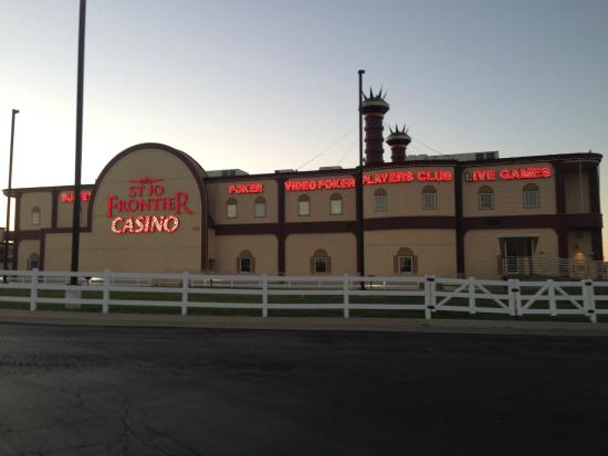 St joe frontier casino bufet casino deposit method