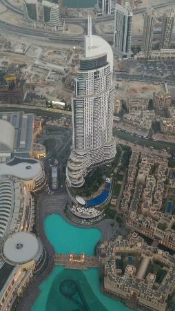 Address Downtown: The Adress Downtwn - View from the Burj Khaliva