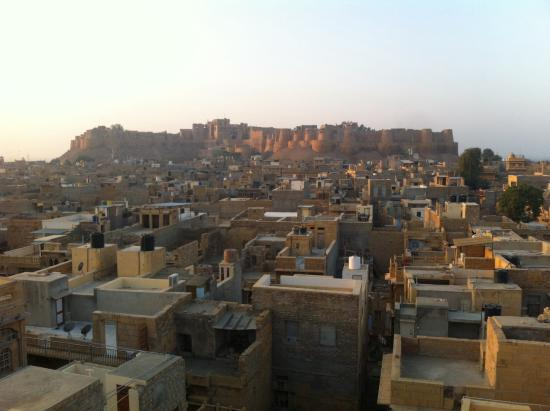 Residency Centre Point Guest House and Desert Safari : Dawn view from the rooftop