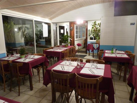 Amphion Les Bains, Frankrig: Côté restaurant
