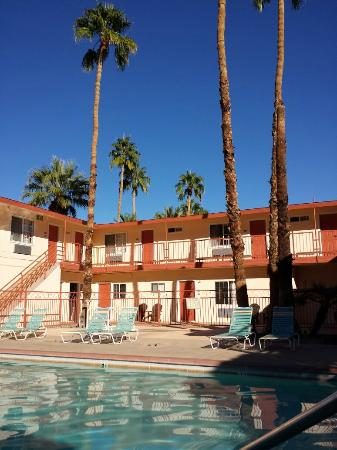 Knights Inn Palm Springs: Very peaceful