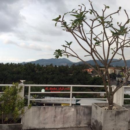 Arita Hotel: вид на Патонг с крыши отеля
