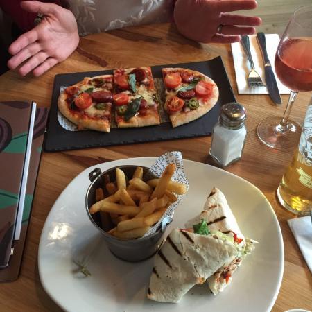 Cheers picture of all bar one birmingham tripadvisor for Food bar menu birmingham