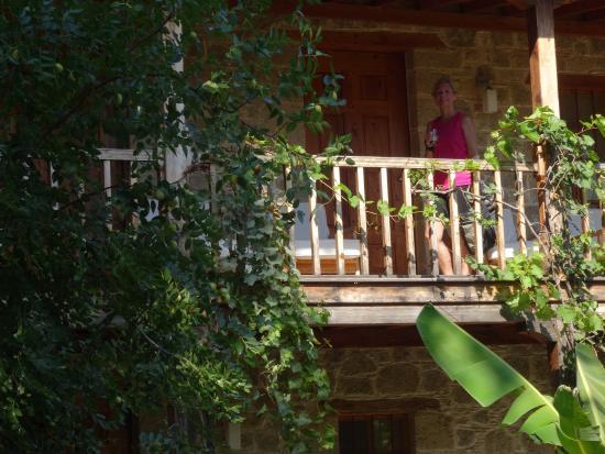 Mehmet Ali Aga Mansion : A Typical Room Balcony