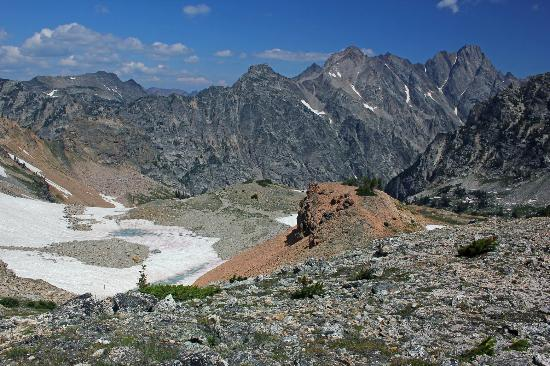 Lake Solitude: View from Paintbrush Divide