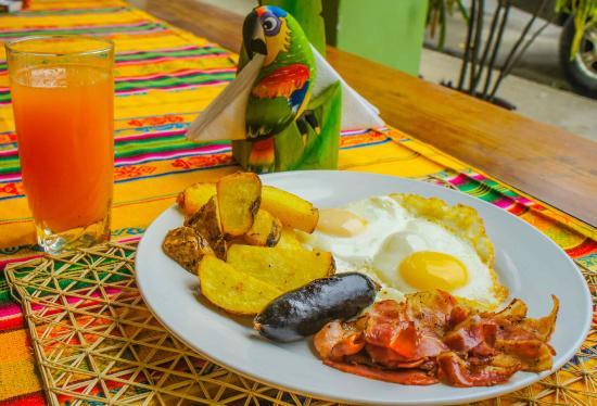 Coco Bongo: American Breakfast
