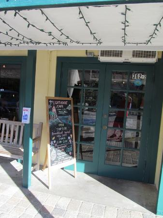 Lighthouse Cafe: Welcome