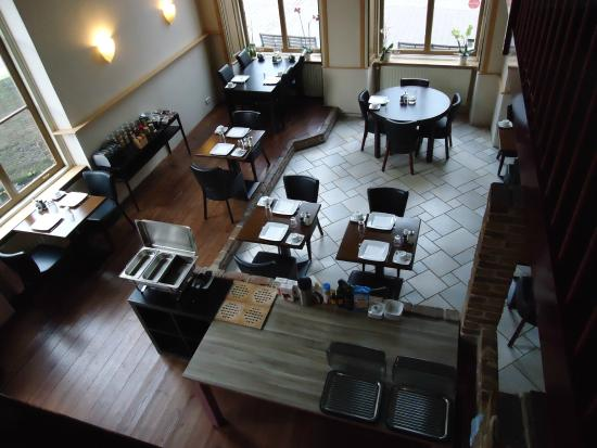 Hotel Restaurant Les Compagnons Grand Canal: ontbijtruimte