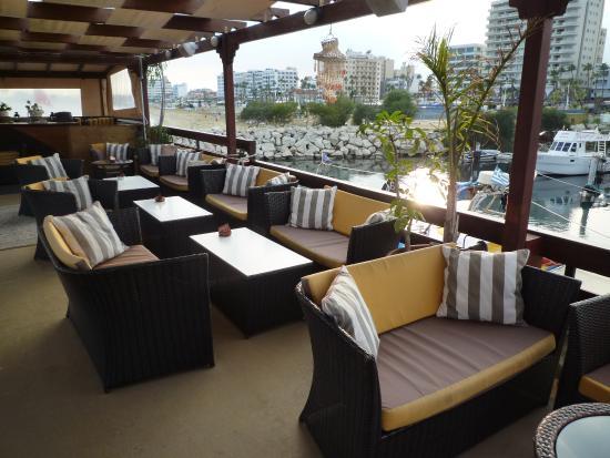 Aquarium Mediterranean Bar and Grill: Top Deck waiting for You !