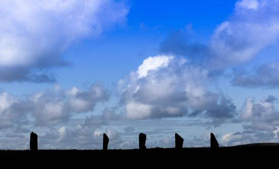 Ring of Brodgar: Il Ring in controluce