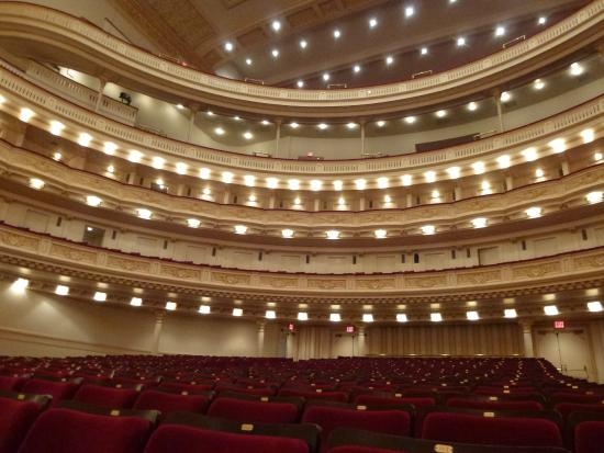 Int rieur carn gie hall foto di carnegie hall new york for Interieur foto s