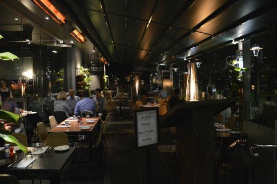 Ludlow Bar Dining Room LA VERANDA