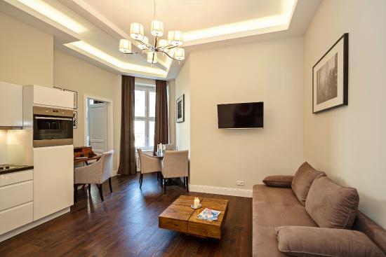 Arabel Design Apartments Wohnzimmer Apartment