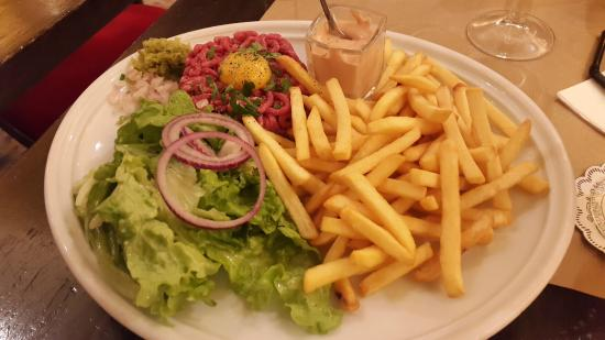 Le Corail: Beef Tartare