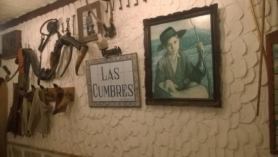 Restaurante Las Cumbres Meson del Cordero : fra resturanten