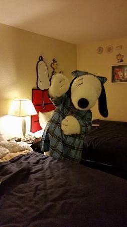 Knott's Berry Farm Hotel: Buenas Noches Snoopy