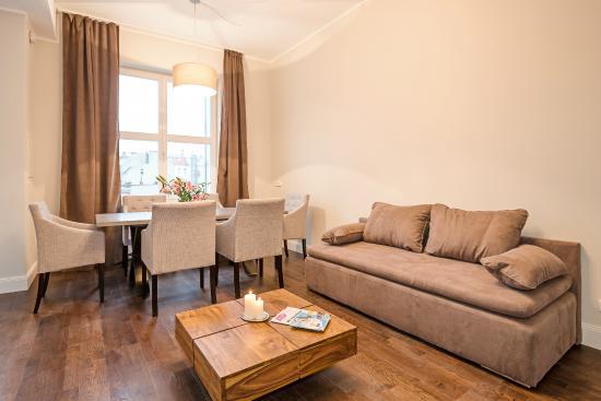 wohnzimmer apartments für bis zu 5 personen- apartments up to 5 ...