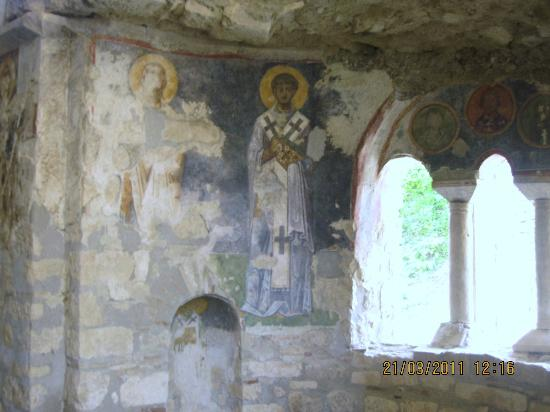 Frescoe Apostles Crying - Picture of Church of St ...