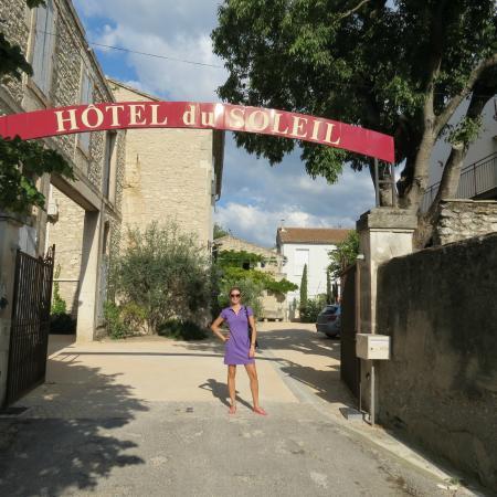 Hotel du Soleil : Entrada