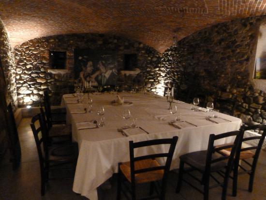 Cureggio, Italie : saletta interna