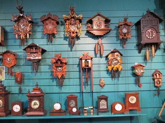 Claphams Clocks - The National Clock Museum: Cuckoo Clocks