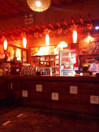 Cafe Lidia: Left side upon entering