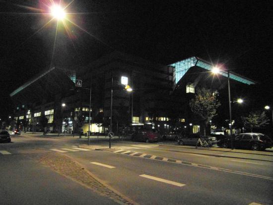 Telia Parken : Стадион в ночи
