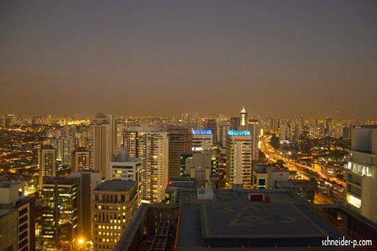 Hilton Sao Paulo Morumbi: Vista apartir do apartamento 2612