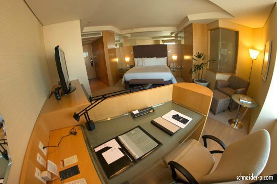 Hilton Sao Paulo Morumbi: O espaço quarto 2612