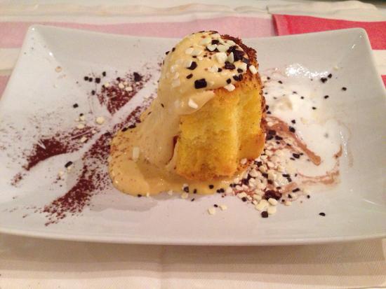 Fuori DI Zucca : Pandorino con crema di mascarpone alla nocciola!