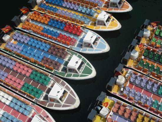 Qing Long Si: Barcos para o passeio