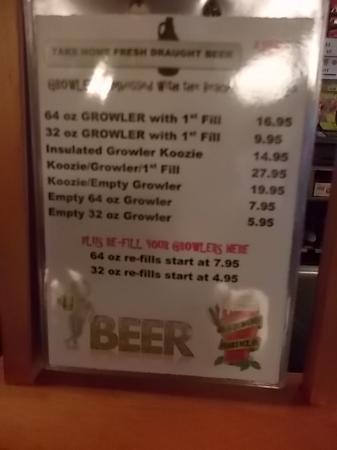 Beachcomber Tavern : Wallet friendly