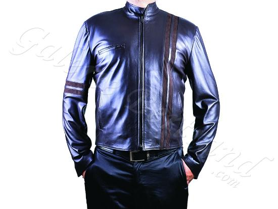 veste en cuir pour homme men leather jacket cuir. Black Bedroom Furniture Sets. Home Design Ideas