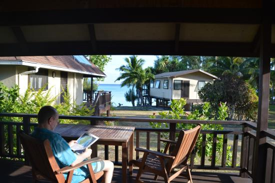 Aitutaki Beach Villas View From Villa 4