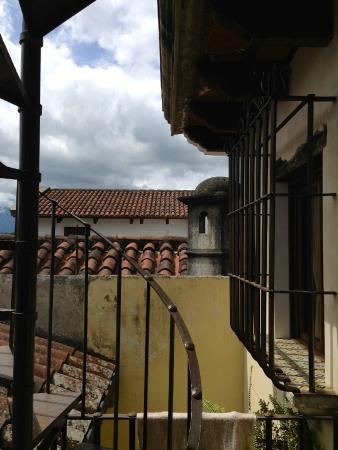 Las Iglesias Hotel Antigua: view