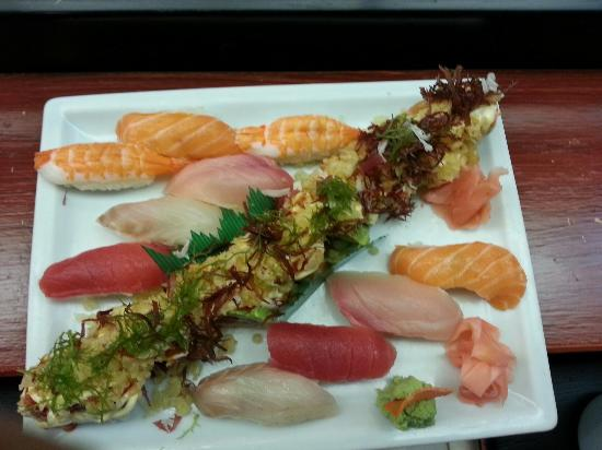 Cherry Blossom Japanese Restaurant: Menu surprise, just ask the chef...
