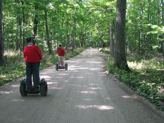 Seaquist Tours Off-Road Segway Adventures: Beautiful scenery