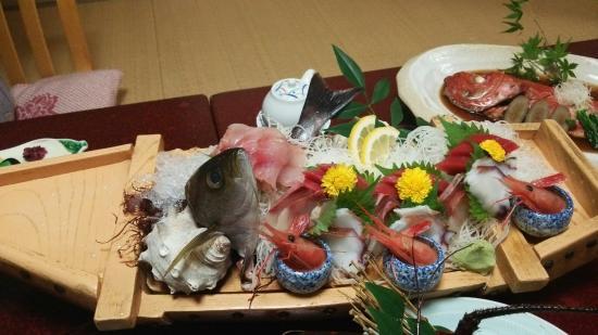Hotel Yamadaya: 舟盛り♪