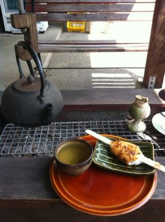 Ryokan Murayama: Not from Ryokan Muryama, but a place just down the street.