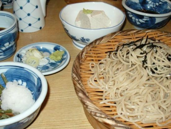 Teuchisobadokoro Yusui: ざるそば&そば豆腐