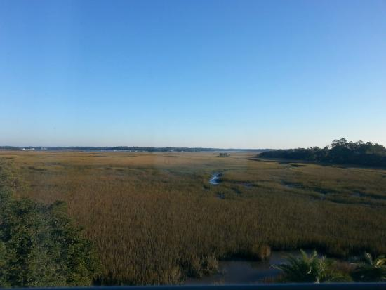 Holiday Inn & Suites Beaufort at Highway 21: view from 4th floor room