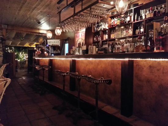 Coyaba Restaurant : The Bar