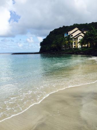 Cap Estate, เซนต์ลูเซีย: Amazing beach