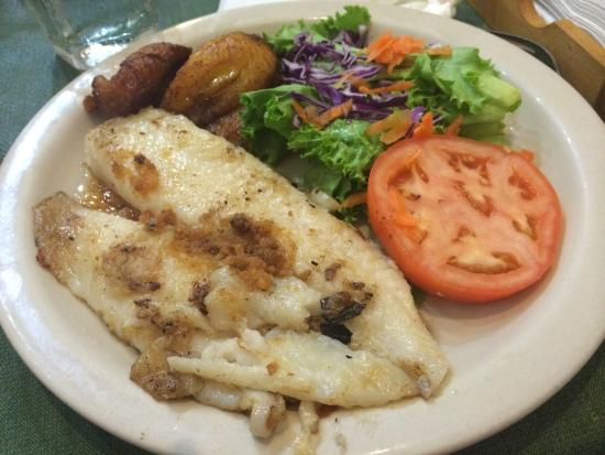 Cafe El Punto: Grouper made really well