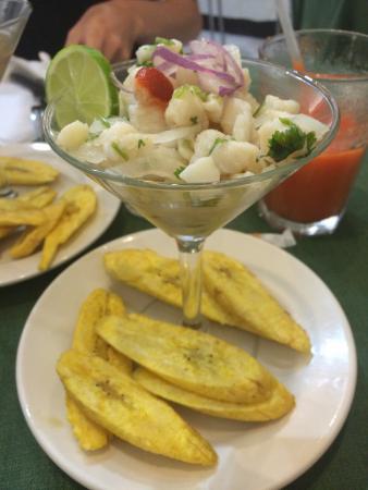 Cafe El Punto: Fish ceviche