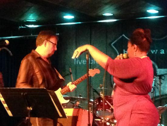 Highway 99 Blues Club Restaurant Ken DeRouchie And Arietta Ward At