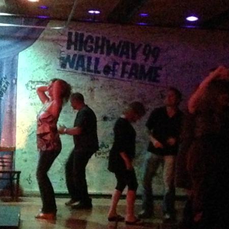 Highway 99 Blues Club Restaurant Dance Floor At High