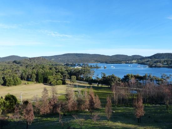 Storm Bay Guest House : the view from our room